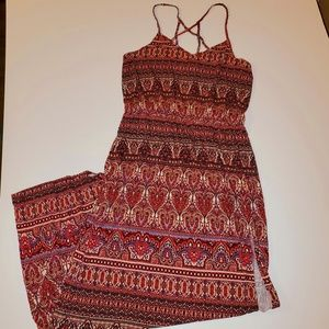 American Eagle Strappy Maxi Dress size Medium